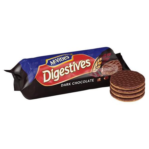 McVitie's Dark Chocolate Digestive Biscuits.
