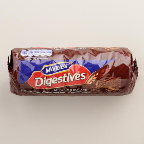 McVitie's Milk Chocolate Digestive Biscuits.