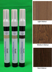 Walnut - A Set of Furniture Touch Up Markers System - 3 markers