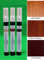 Mahogany - A Set of Furniture Touch Up Markers System - 3 markers