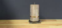 Bronze Dripless Pillar Candle