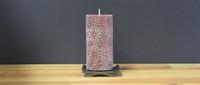 Dripless Bordeaux Pillar Candle