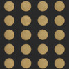 Gift Wrap - Dots - Gold on Black