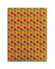 Gift Wrap - Flower Power - Marigold/Blue/Raspberry