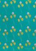 Gift Wrap - Balloons - Aqua Blue/Green/Metallic Silver/Glitter