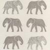 Gift Wrap - Elephant - Cream/Metallic Silver