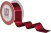 Custom Printing on Double Faced Satin Ribbon - Garnet