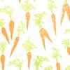 Carrots - Cream/Orange/Gold & Green Metallic