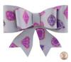 Paper Bow Topper - Jewels Lilac/Purple