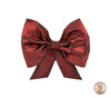 Couture Bow Topper - Port