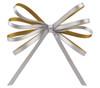 Doppio Bow Topper - Champagne