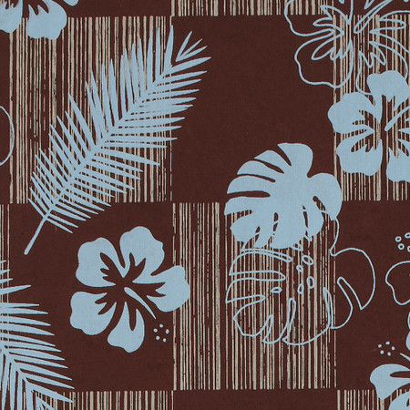 Gift Wrap - Tropics - Brown