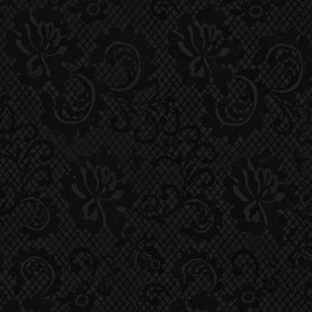 Gift Wrap - Lace - Black/Metallic Black