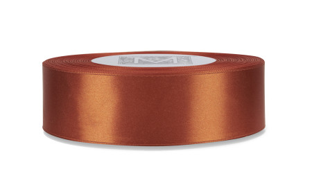 Custom Printing on Double Faced Satin Ribbon - Antique Copper