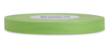 Custom Printing on Herringbone Ribbon - Lemon Grass