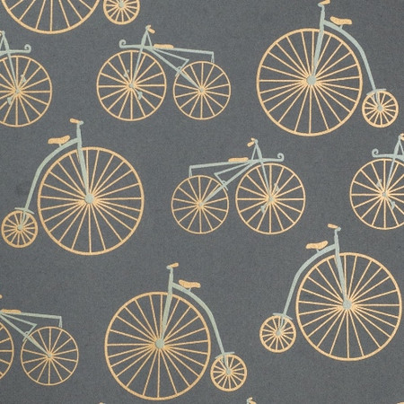 Bicycles – Gray/Gold & Cream Metallic