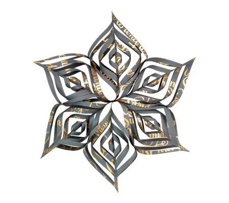 Snowflake Topper - Twelve Days Midnight