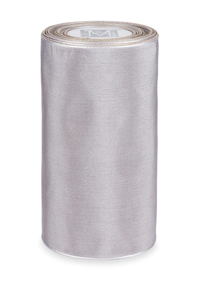 """5"""" Luxe Ribbon - Silver"""