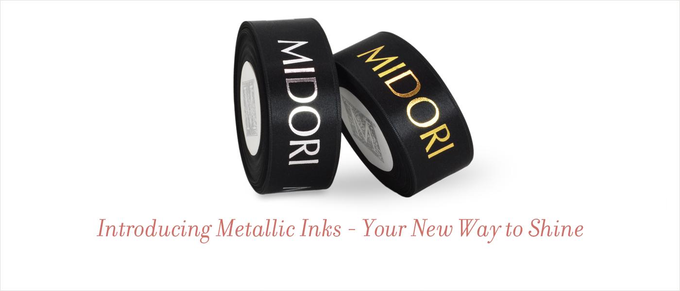 Metallic Inks Ribbon Printing