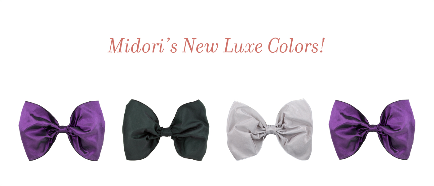 New Luxe Wired Ribbon colors