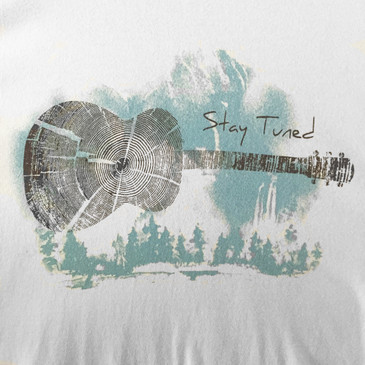 Men's Organic T-Shirt - Stay Tuned Tin Cup