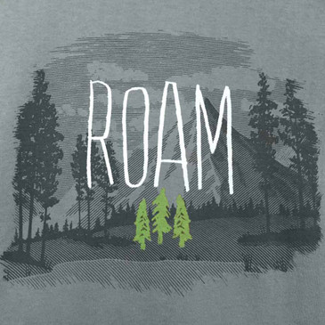 Organic Cotton Men's T-Shirt Roam Dark Cement