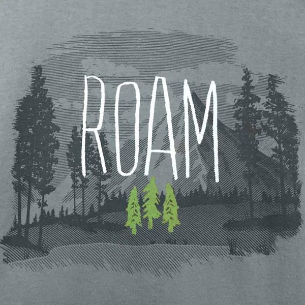 Organic Cotton Men's T-Shirt Roam Dark Cement