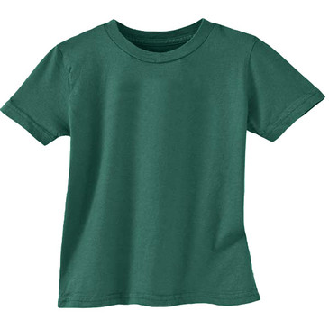 Organic Cotton Toddler Tee - Solid - Forest