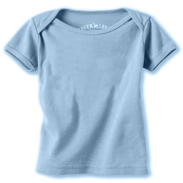 Organic Cotton Infant Tee - Blue Bird