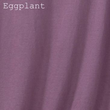 Organic Cotton Toddler Tee - Eggplant