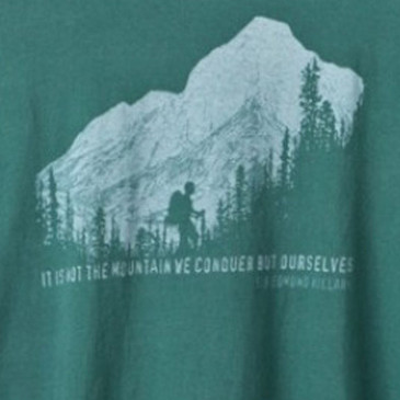 Men's Organic Hiking T-Shirt Forest