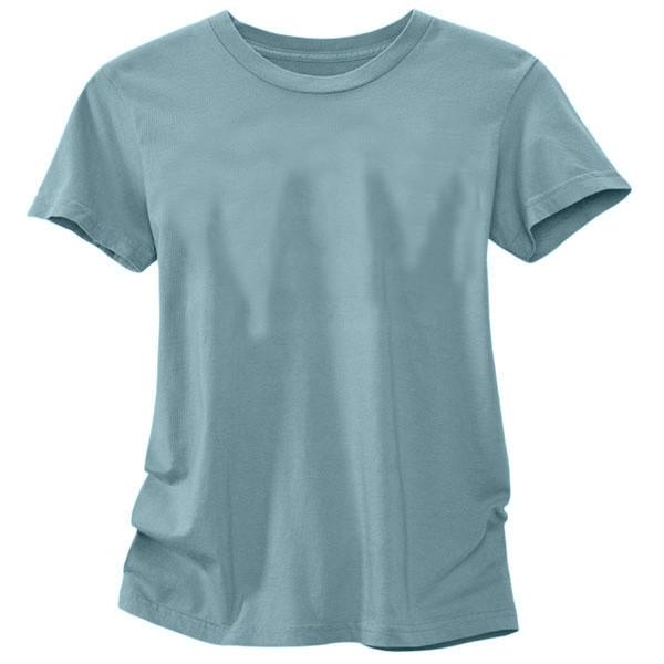 Women's Organic Cotton T-Shirt Solid - Sea Foam