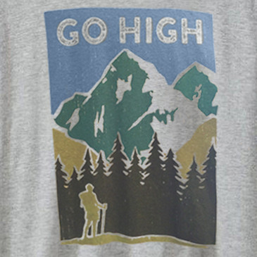 Go High Men's T-Shirt