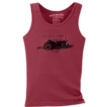 Women's Slim Tank Support Local Brick