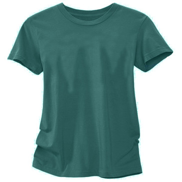Solid Women's Slim T-Shirt - Forrest X-Large