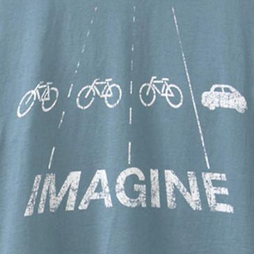 Women's Cycling Tees - Imagine Blue