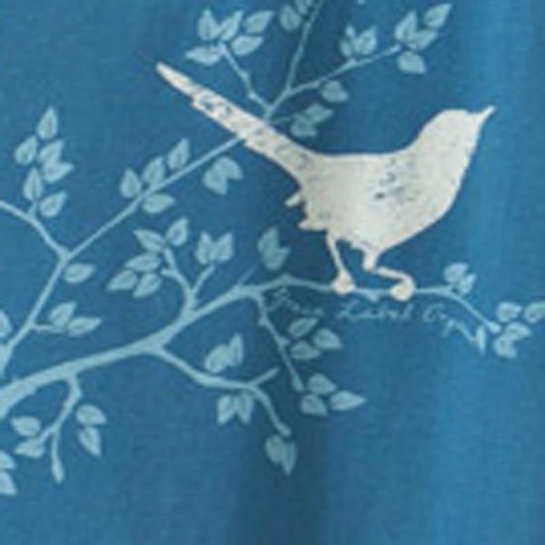 Women's Slim Scoop - Bird Song Ocean