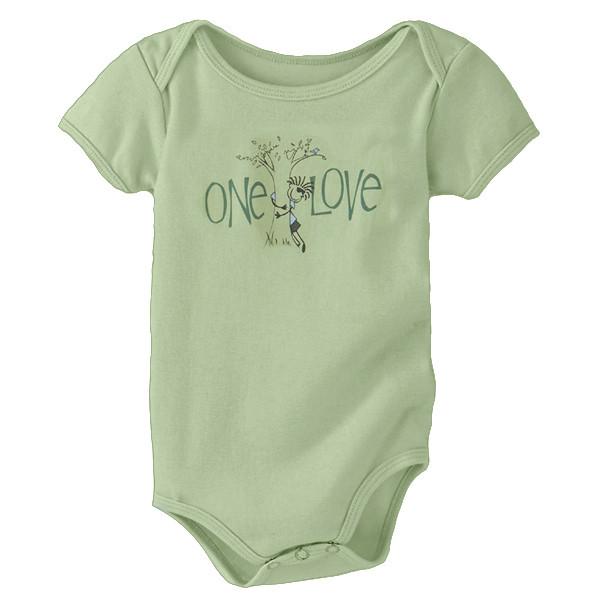 Infant Onesie Ollie Tree Hugger Moss