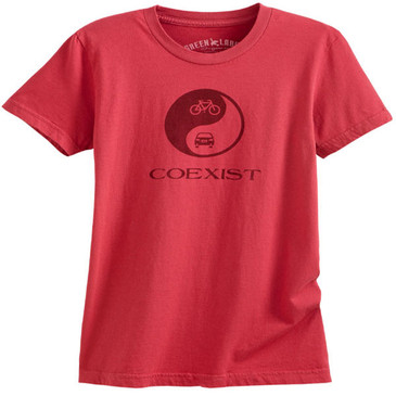 Women's Slim Crew Coexist Brick
