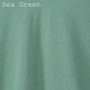 Women's Classic V-neck Solid Sea Green