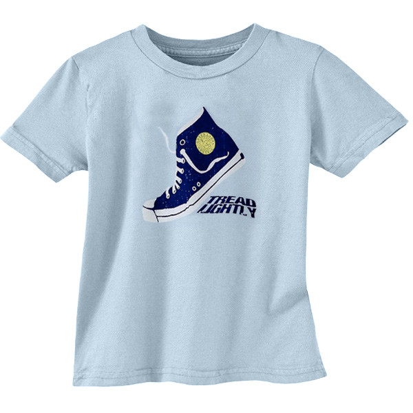 Toddler Tee Tread Lightly Blue Bird