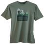Men's Organic Hiking T-Shirts - Men and Mountains Willow