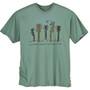 Men's T-Shirt Nature of Music Sea Green