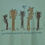Men's Soft and Natural Organic T-Shirts - Nature of Music Sea Green