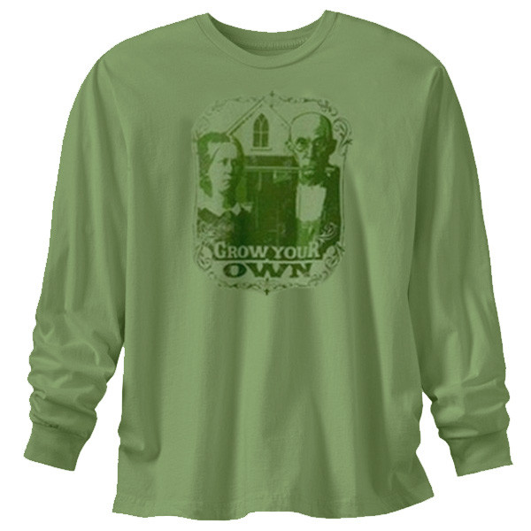 Men's Long Sleeve XXL T Shirts - Grow Your Own Moss