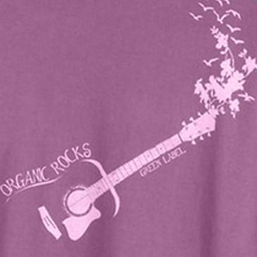 Organic Rocks Women's T-Shirt - Eggplant - Large