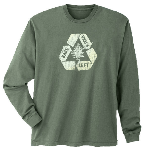 Men's Long Sleeve Save What's Left Willow