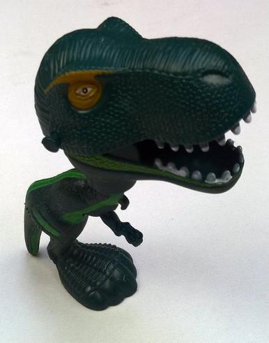 Chomping Dino - green