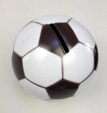 Football Moneybox Tin