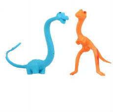 Bendy Diplodicus and T-Rex Dino (only 1 supplied)